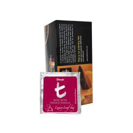 T Sachet Rose With French Vanilla 30s